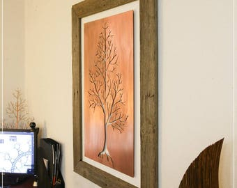 Inner Tree - Copper Wall Art