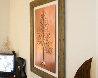 Inner Tree - Copper Wall Art