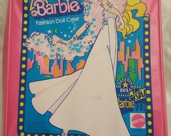 Vintage Superstar barbie doll case
