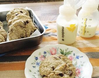 Milk Bomb Lactation Cookies