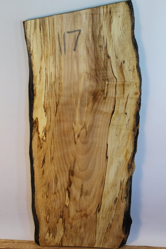 Sycamore Maple Live Edge Slab 117 Diy Hardwood Custom