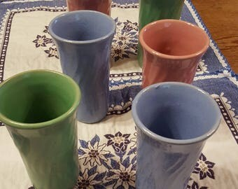 Antique/Vintage Pottery Tumblers