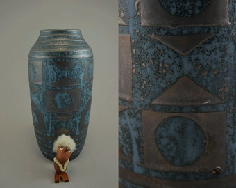 Vintage vase / Carstens Tonnieshof / 1228 30 / decor Ankara | West Germany | WGP | 60s