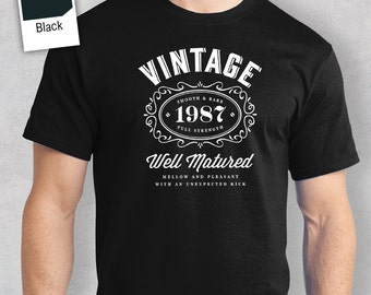 30th Birthday, 30th Birthday Idea, Great 30th Birthday Present, 30th Birthday Gift. 1987 Birthday, 30th Birthday Shirt For a 30 Year Old!