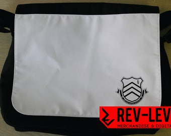 Persona 5 Shujin High School Inspired Cosplay Laptop Bag - Shin Megami Tensei Shujin Academy Messenger bag by Rev-Level.com
