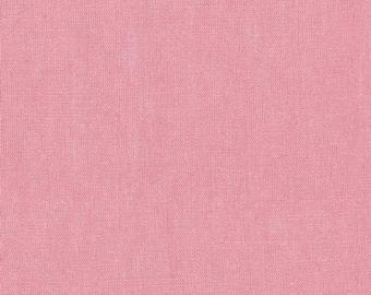 1/2 Yard Outland Yarn Dyes Denim Studio Art Gallery Fabric- Denim-6003 Rose Feather