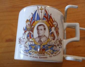 King Edward VIII Coronation Mug 1937