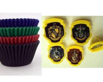 Harry Potter Hogwarts Houses Rings