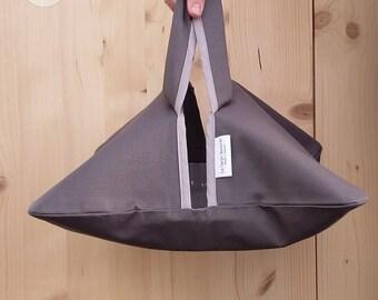 flat door - gray - double cotton coated