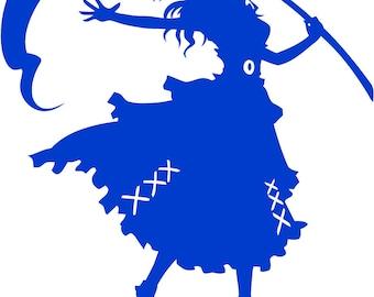 Touhou Project Komachi Onozuka Character Decal
