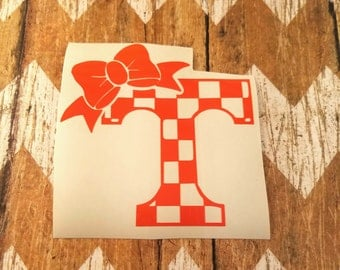 Tennessee Decal Etsy - Bow custom vinyl decals for car