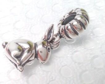 NEW Authentic Pandora Bunny Bead 791101