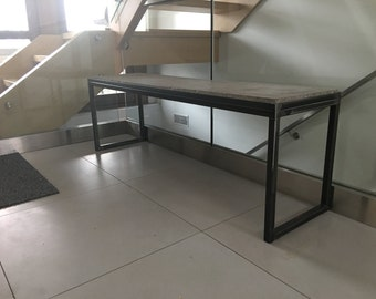 Concrete Entrance Bench