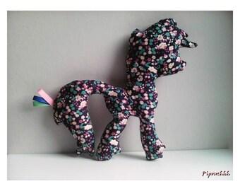 Decoration / Doudou pony small flowers