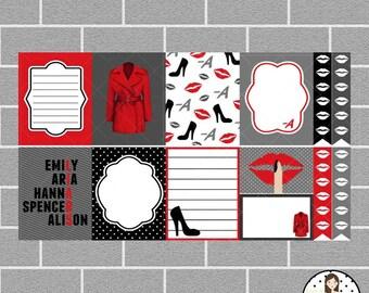 Beautiful Liar Full Box Planner Stickers