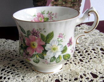 Paragon Flower Festival A Bone China Tea Cup Only - Made in England