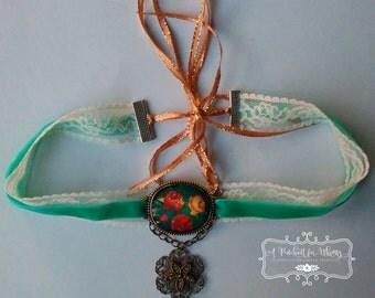 Unique Vintage Inspired Choker Necklace