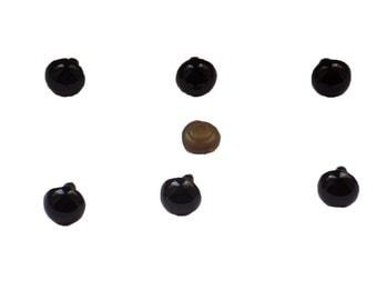 putting eyes , animal eyes , black , 17 mm