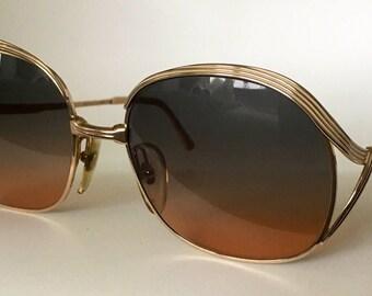 CHRISTIAN DIOR 80s vintage sunglasses