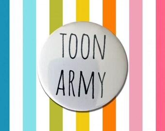Toon Army Geordie Badge