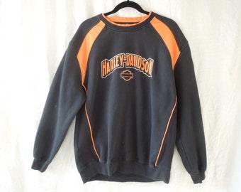 SALE 90s Harley Davidson Sweatshirt