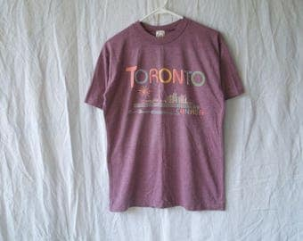 90s Toronto Canada Puffy Paint T-Shirt