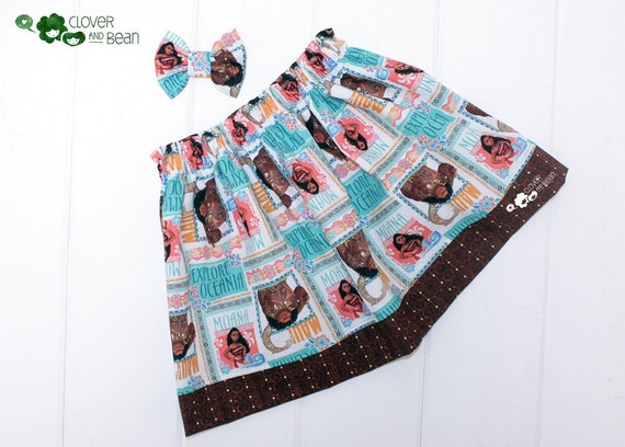 Disney Moana Tropical Print Skirt