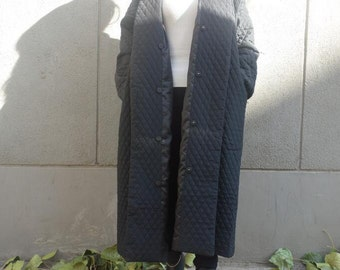 Winter Quilted Coat Long Women Coat Thick Cotton Women Warm Winter Coat  Custom Made