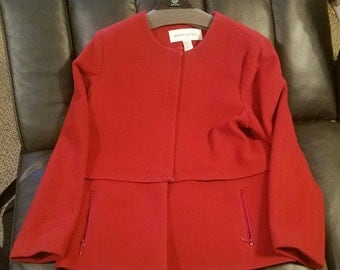 """REDUCED..!!   Vintage """"Doncaster"""" Women's  Red fall Jacket / Coat"""