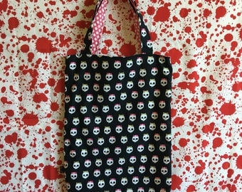 Reversible Trick-or-Treat Bag 8x13