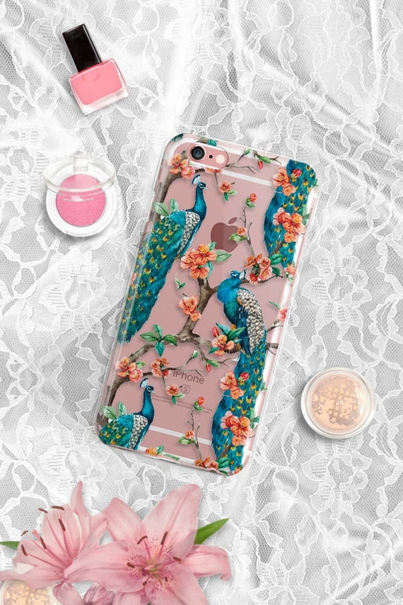 Clear iPhone 7 Plus Case iPhone 6s case Clear Peacock iPhone 6 case Rubber iPhone 6 plus case Clear iPhone 6s plus case Rubber iPhone 7 case