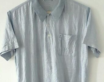 Rare Vintage YSL Polo Tshirt Size M