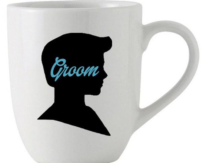 Coffee Mug, Groom Ken Mug, Gift Idea, Groom-to-be, Recently Engaged