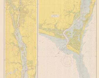 Cape Fear River 1950