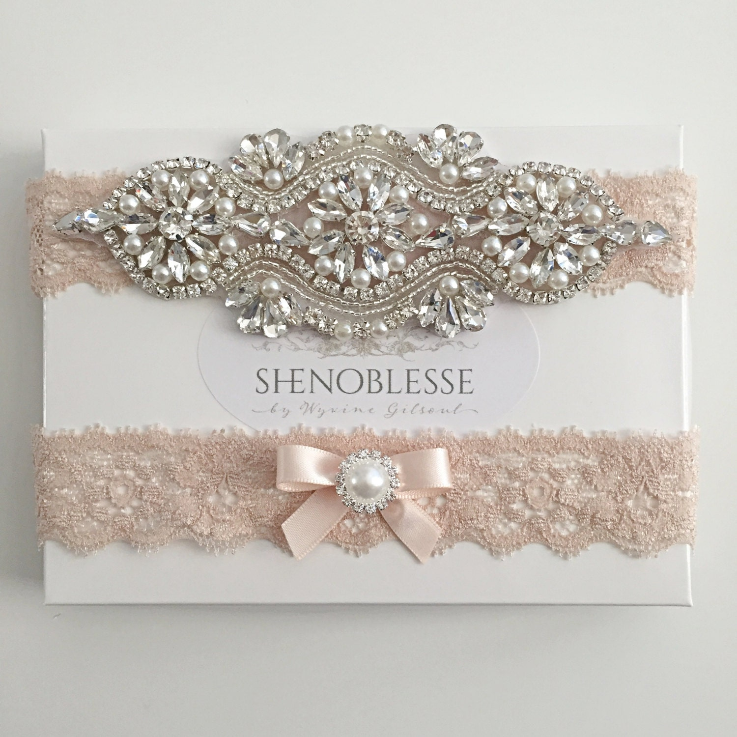 acbe70f23e3 30 Handmade Wedding Garters to Die For
