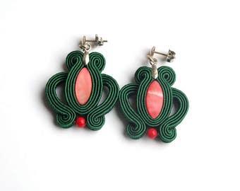 """Soutache earrings """"Iva"""""""