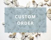 Custom ooder for J. W.