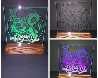 LED Light up plaques