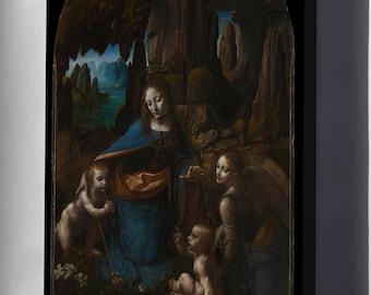 Canvas 24x36; The Virgin Of The Rocks By Leonardo Da Vinci C1503