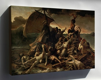 Canvas 16x24; Raft Of The Medusa, C. 1820 Theodore Gericault'S