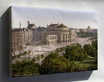 Canvas 16x24; Vienna In 1900