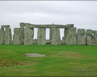 16x24 Poster; Stonehenge P1