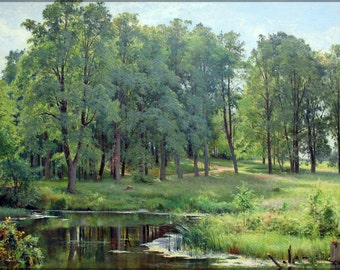 16x24 Poster; In The Park By Ivan Shishkin