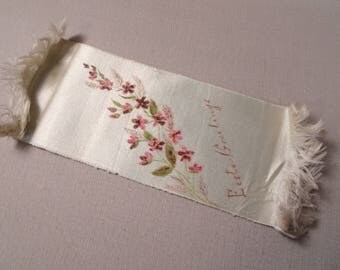 Happe Easter Satin Ribbon or Bookmark