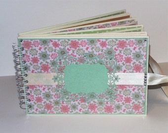 Scrapbook album handmade, photo album, girl photo album, gift, birthday, ring photo book, photo book