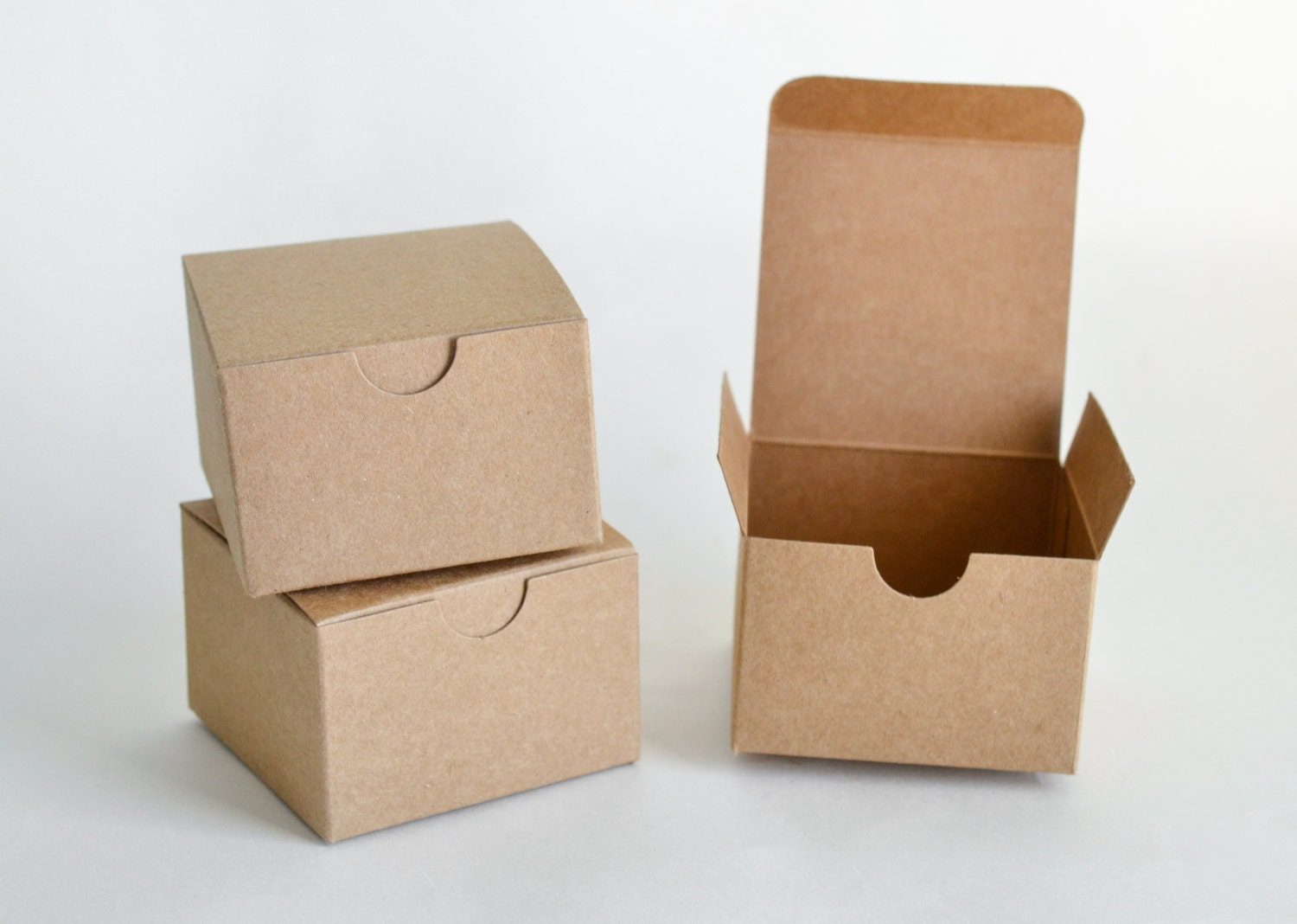 Favor Gift Boxes: Small Gift Boxes 10 Kraft Boxes Party Favor Boxes Paper