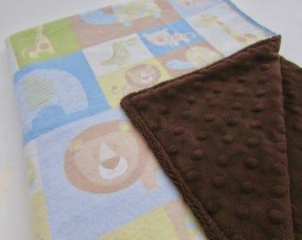 Snuggle Flannel Minky Blanket