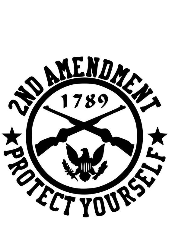 2Nd Amendment Quotes Fascinating 2Nd Amendment Svg File Quote Cut File Silhouette File