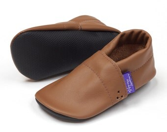 Gift for kids Leather baby shoes handmade toddler prewalker mocasins Barefoot baby boy girl Reclaimed leather