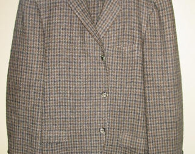 Men's Harris Tweed Cubbing Coat 42R
